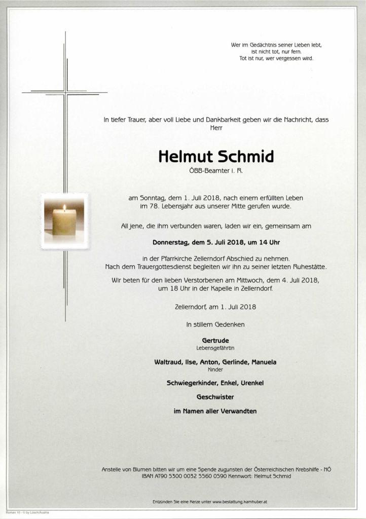 thumbnail of Parte Helmut Schmid