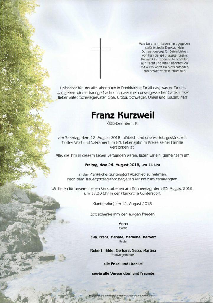 thumbnail of Parte Franz Kurzweil