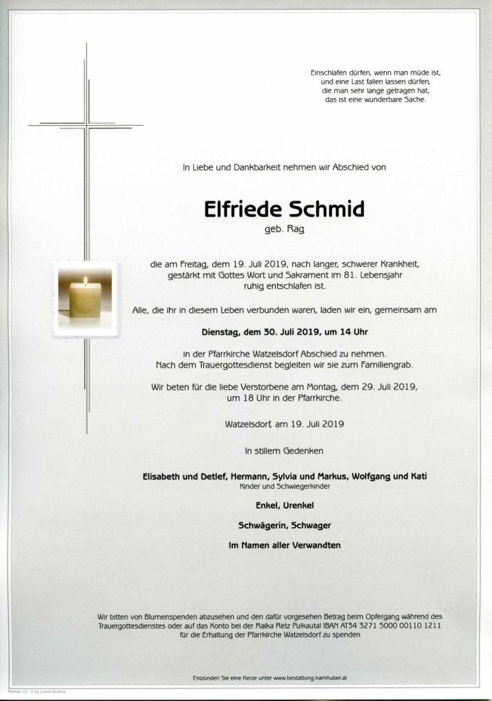 thumbnail of Parte Elfriede Schmid