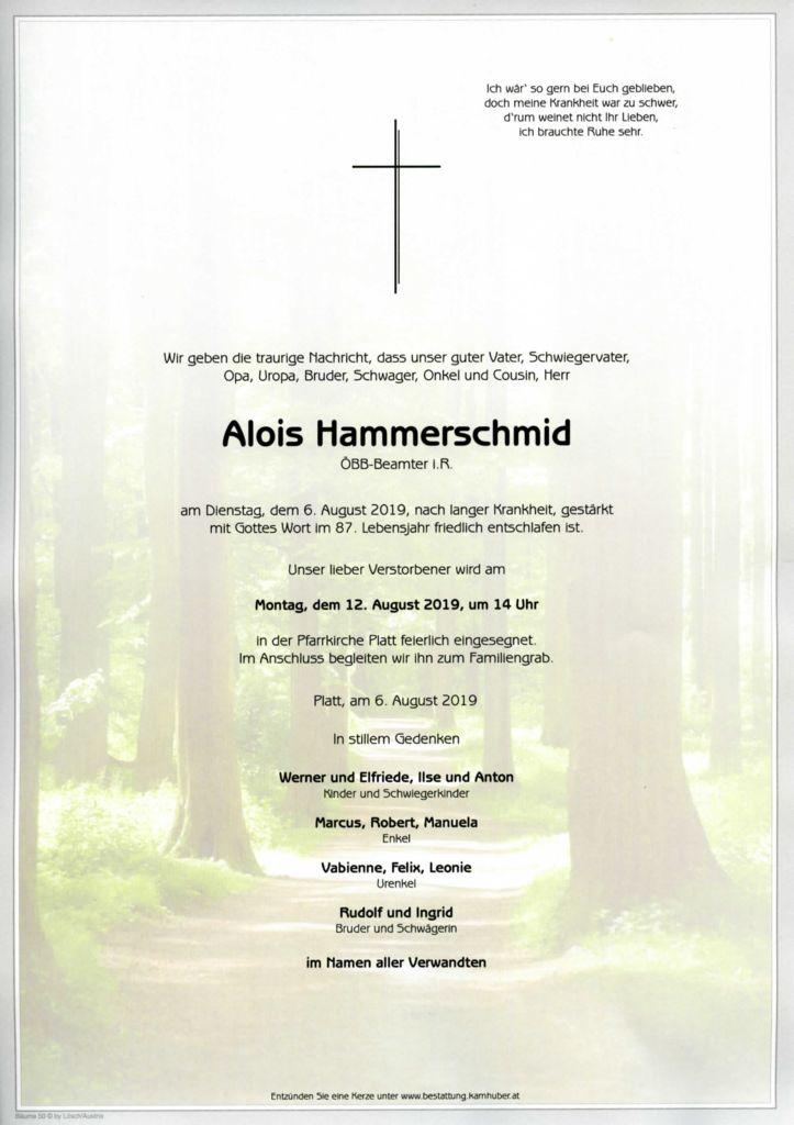 thumbnail of Parte Alois Hammerschmid