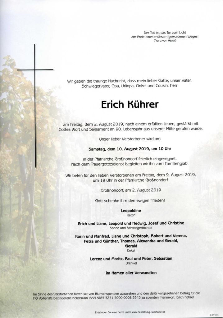 thumbnail of Parte Erich Kührer