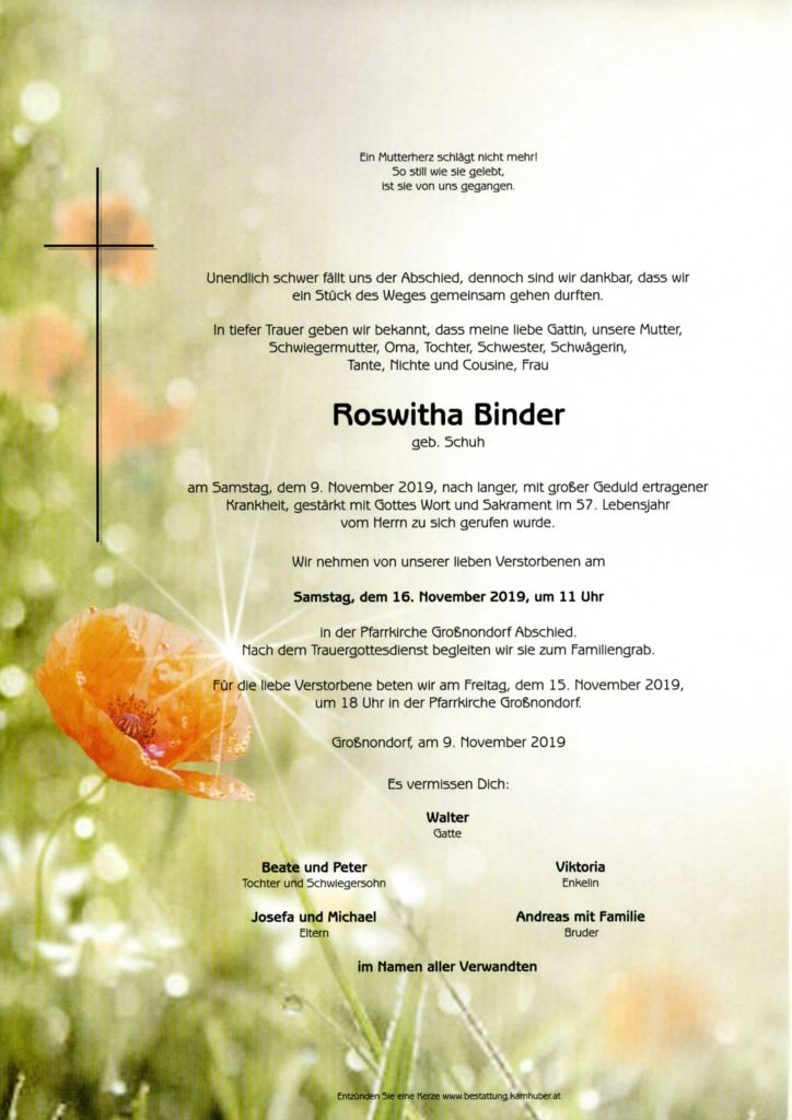 thumbnail of Parte Roswitha Binder