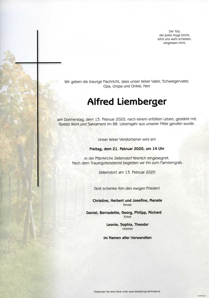 thumbnail of Parte Alfred Liemberger