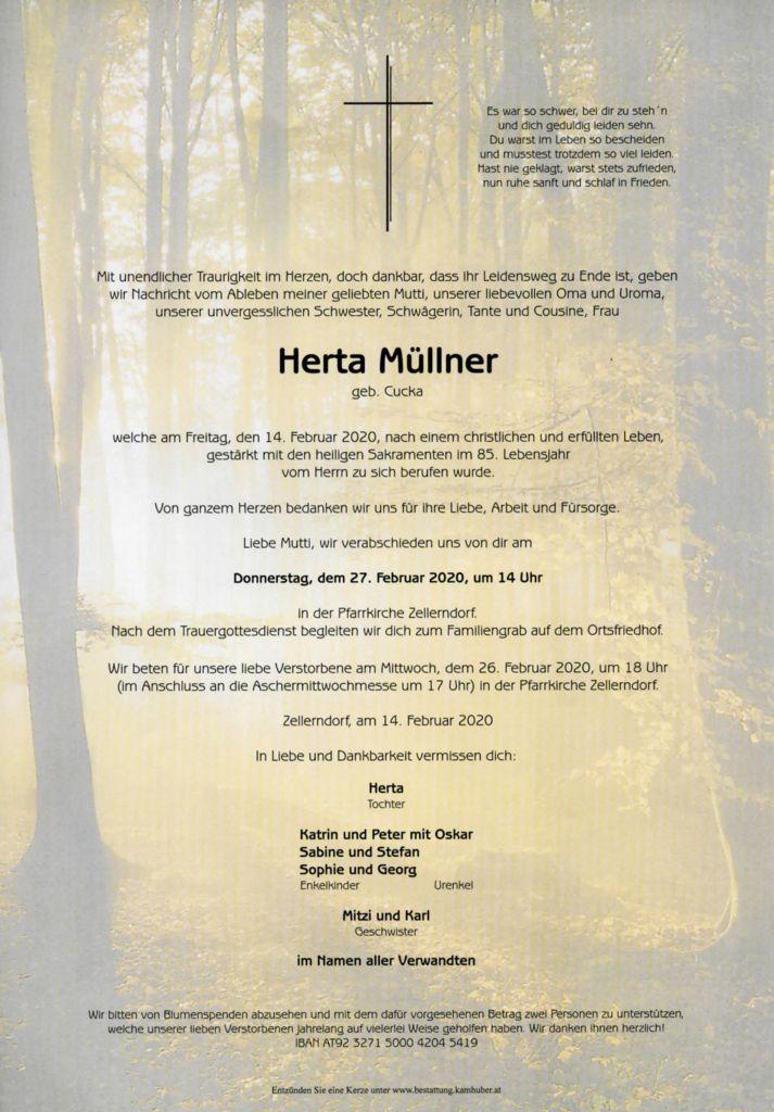 thumbnail of Parte Herta Müllner