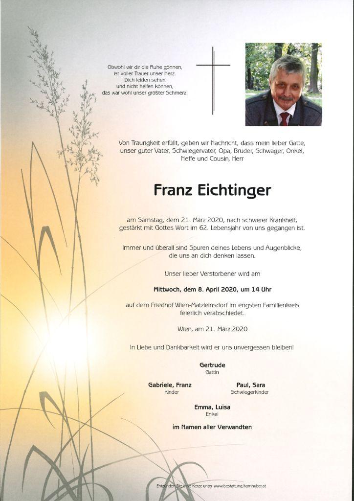 thumbnail of Franz Eichtinger