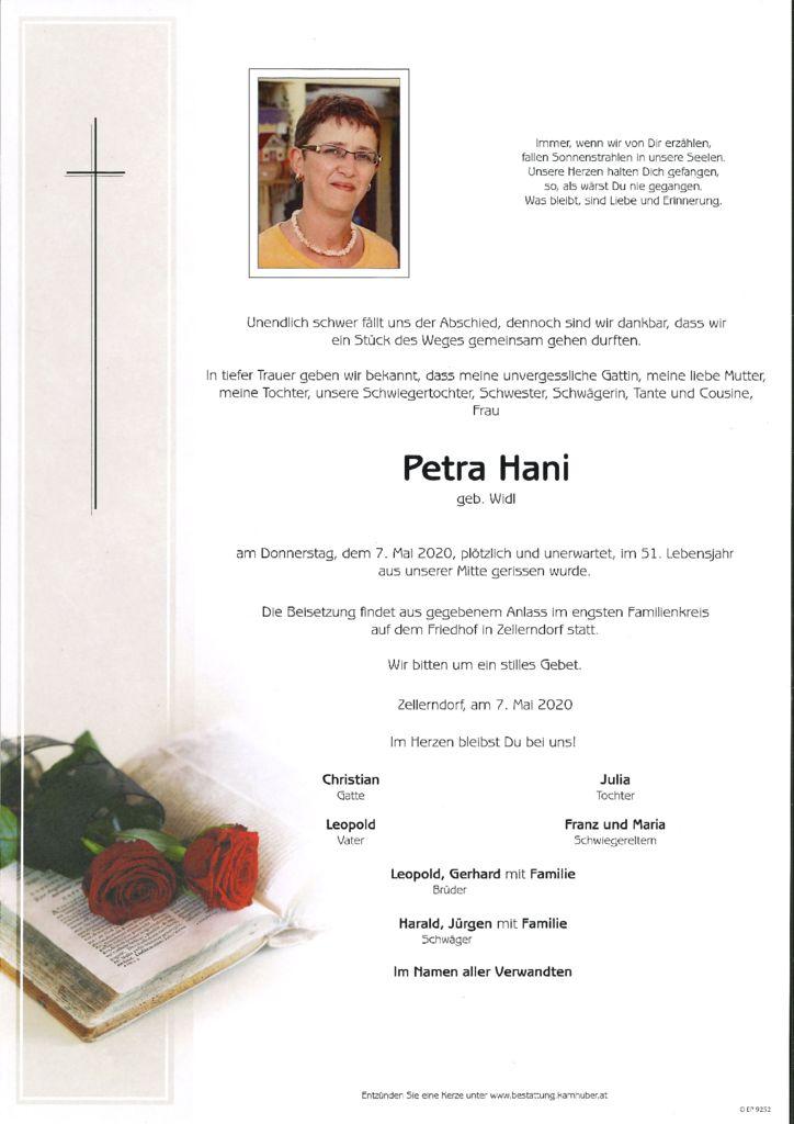 thumbnail of Parte Petra Hani