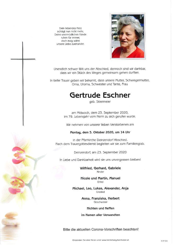 thumbnail of Parte Gertrude Eschner