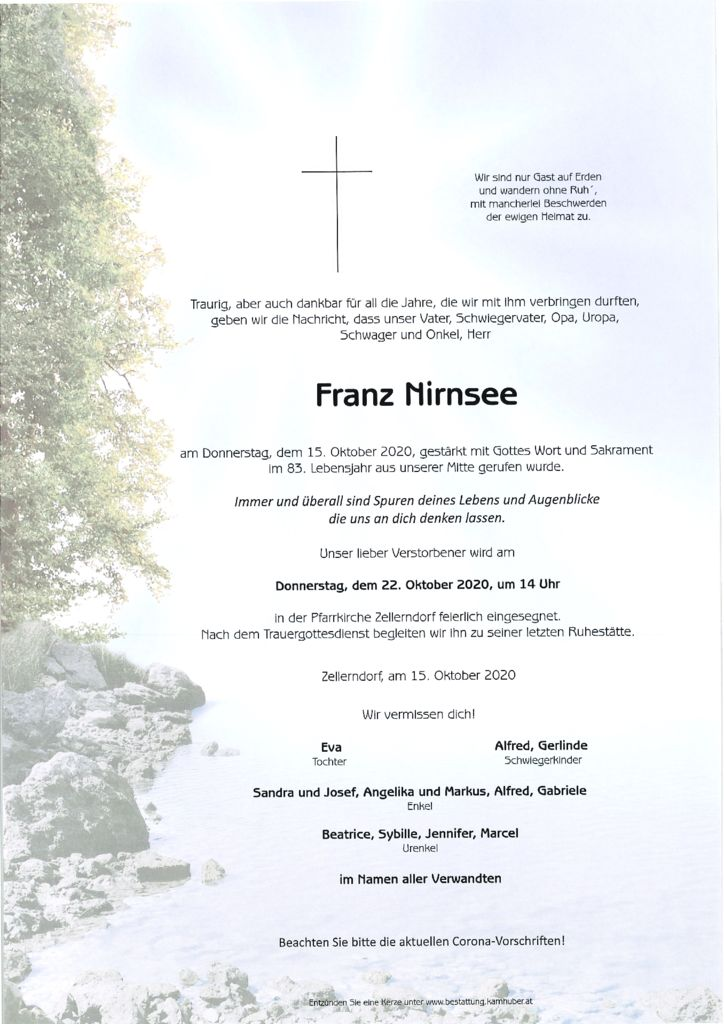 thumbnail of Parte Franz Nirnsee