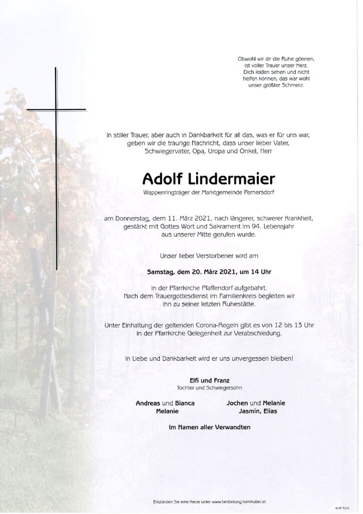 th bnail of Parte Adolf Lindermaier