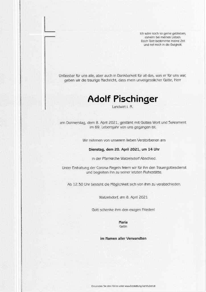 th bnail of Parte Adolf Pischinger