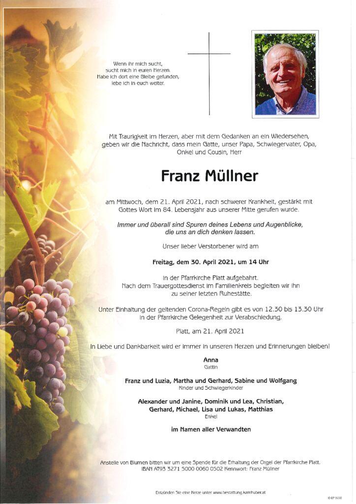 th bnail of Parte Franz Müllner