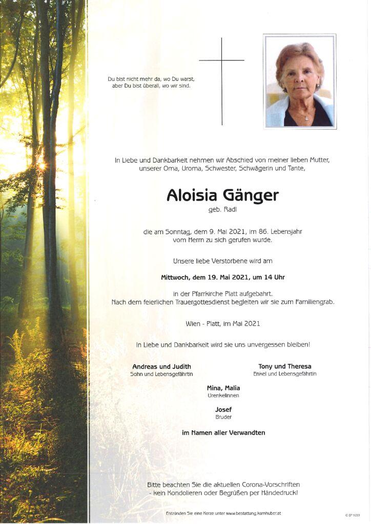 th bnail of Parte Aloisia Gänger