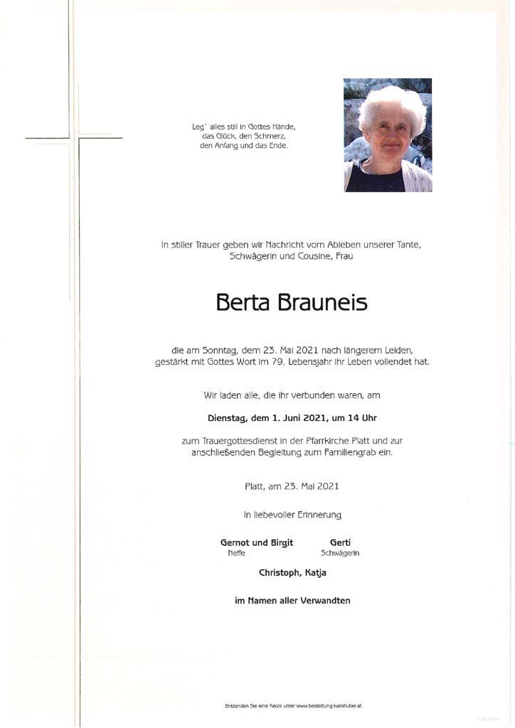 th bnail of Parte Berta Brauneis