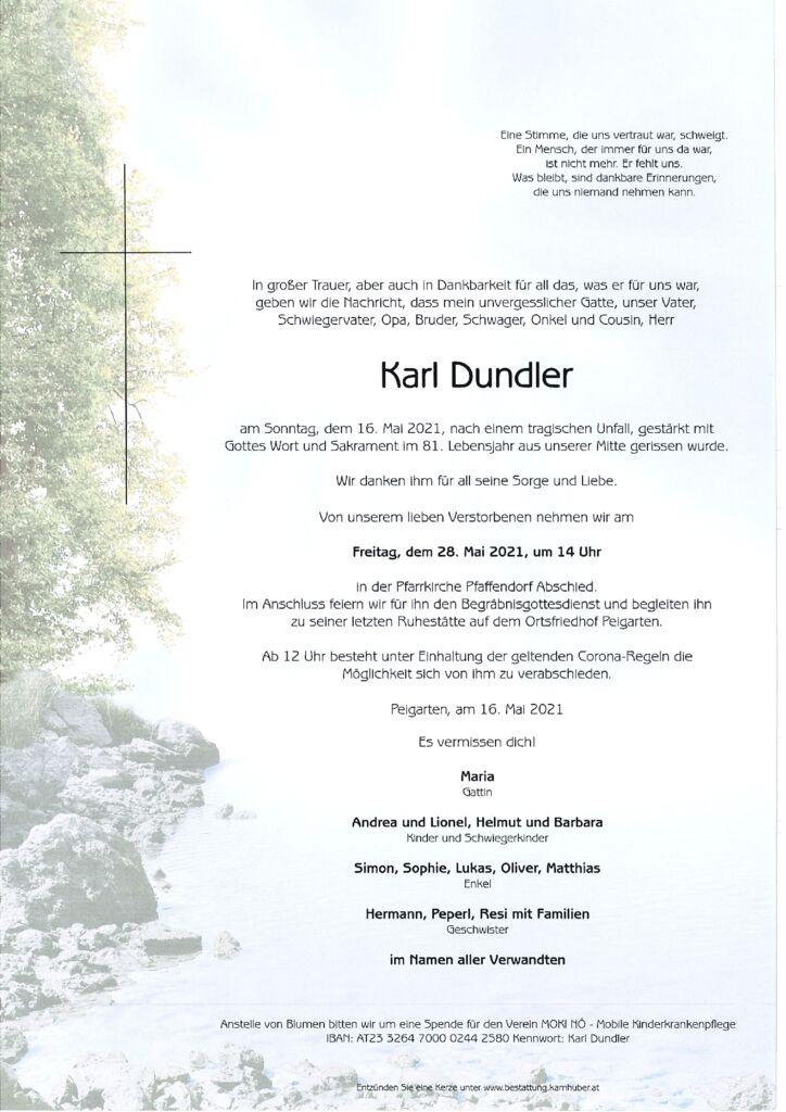 th bnail of Parte Karl Dundler