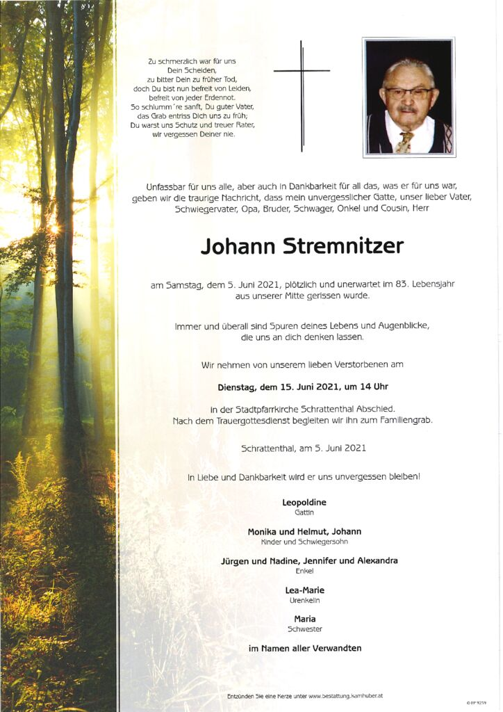 th bnail of Parte Johann Stremnitzer