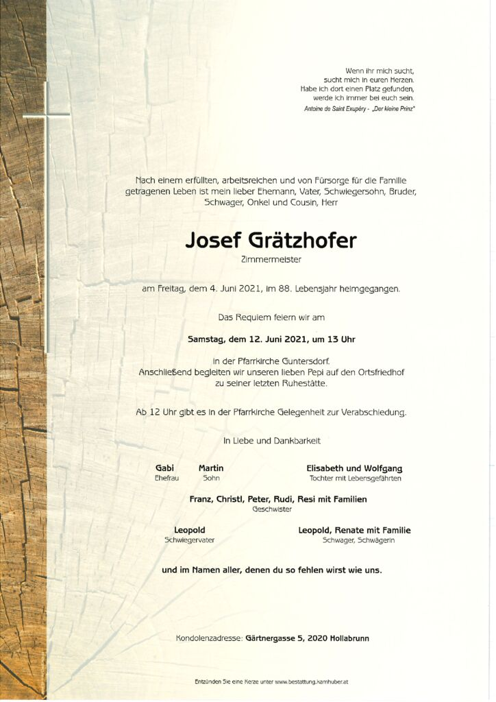 th bnail of Parte Josef Grätzhofer