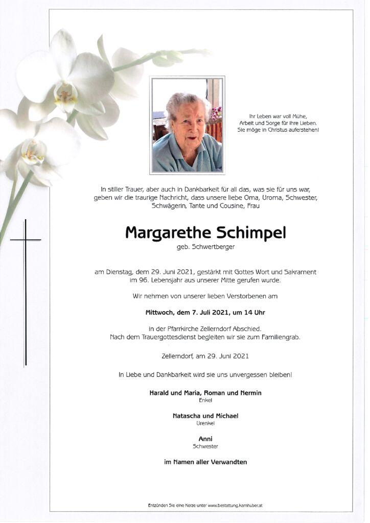 th bnail of Parte Margarethe Schimpel