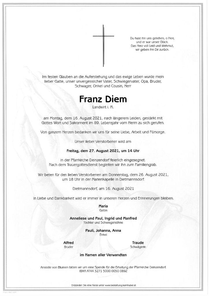 th bnail of Parte Franz Diem