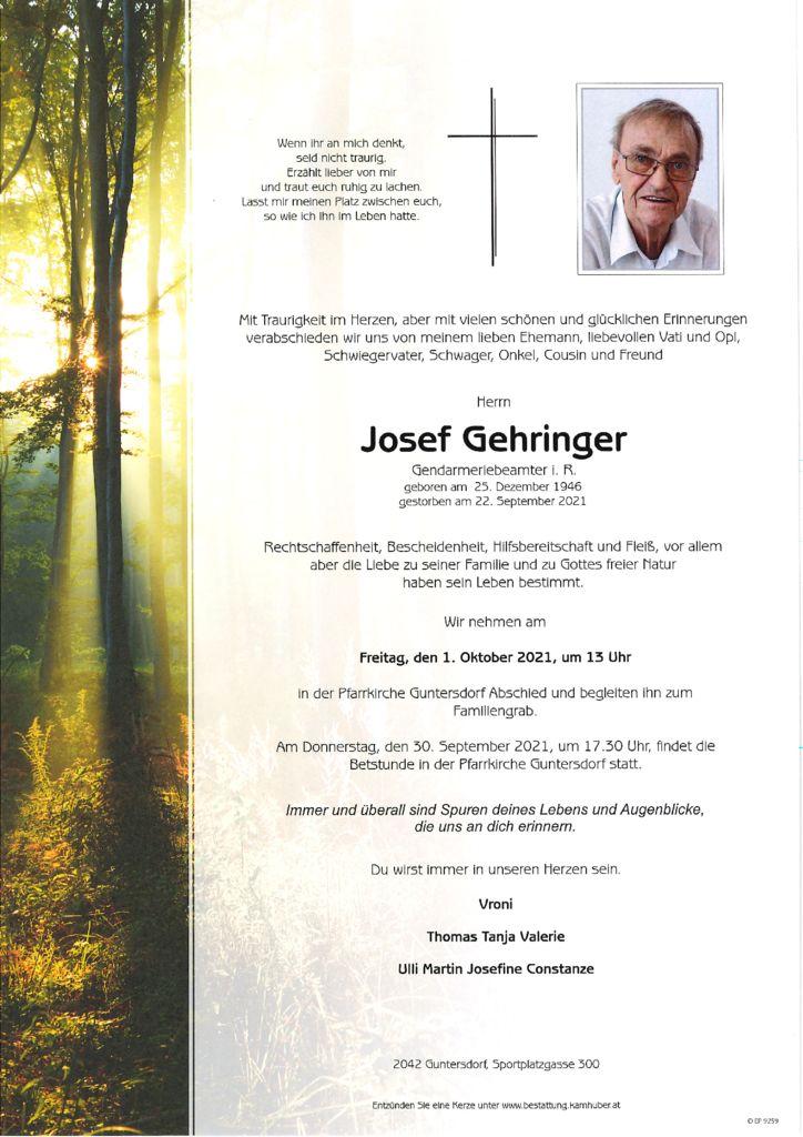 th bnail of Parte Josef Gehringer