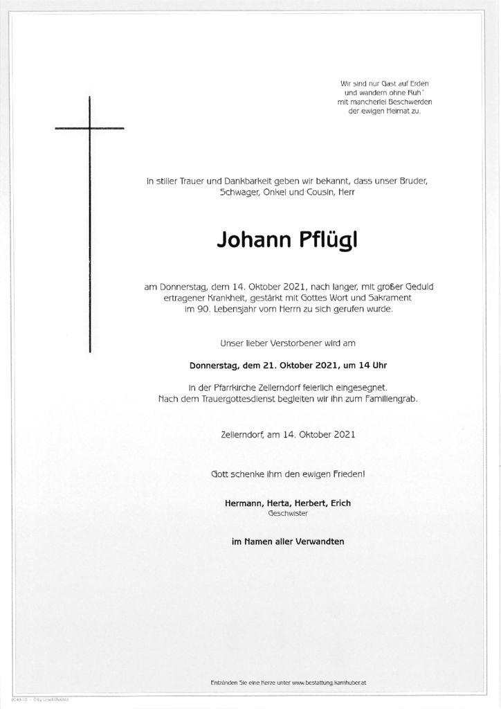 th bnail of Parte Johann Pflügl